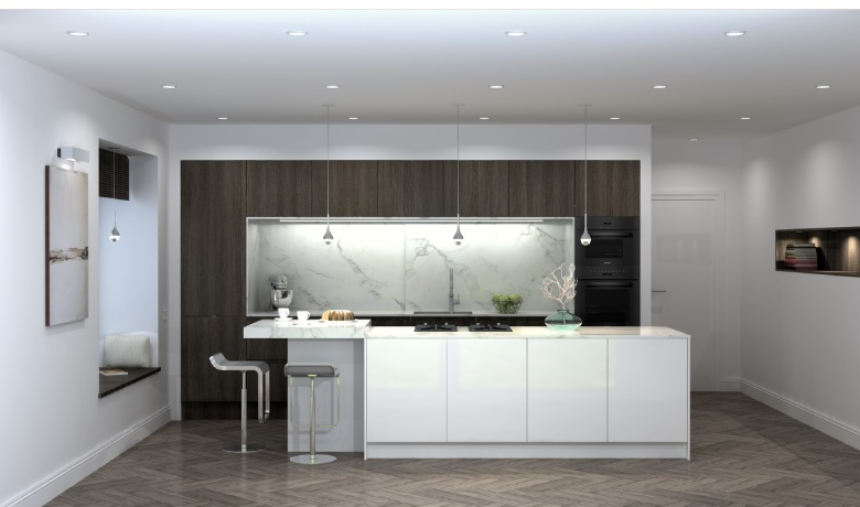Eine Küche geplant von Planungsbüro elbküchen von Hilke Kwasnicki